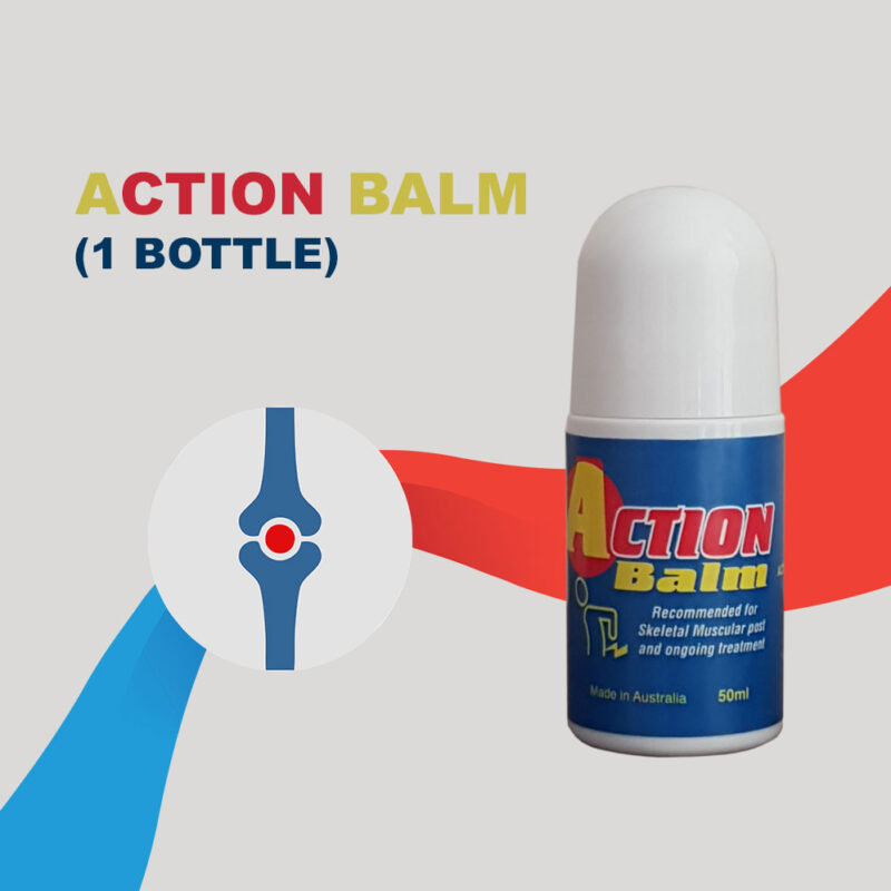 Action balm one 50ml bottle